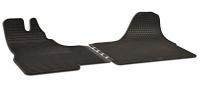 Gumové koberce přesně tvarované Iveco DAILY -- od roku výroby 2000- (2-dílná sada)